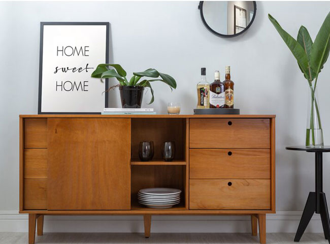 6. Charm midcentury modern sideboard at Wayfair