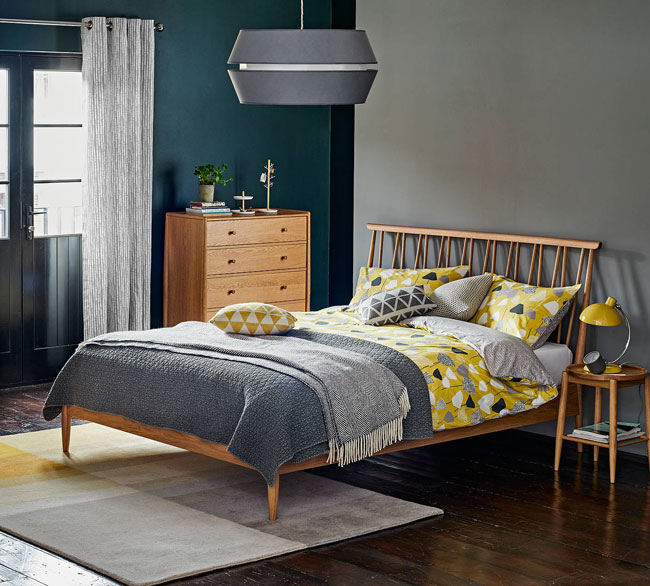 14. Ercol for John Lewis Shalstone bed frame