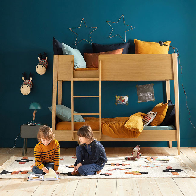 15. Midcentury modern Alceste bunk beds at La Redoute