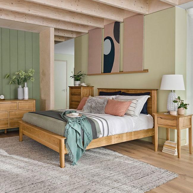 21. Copenhagen bed at Oak Furnitureland