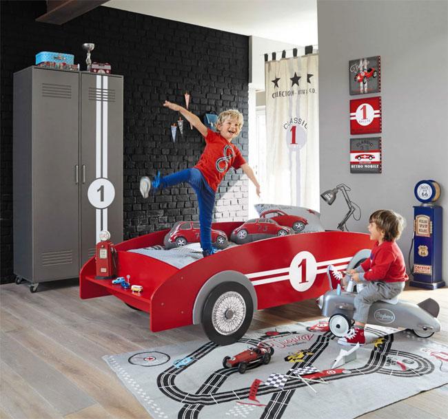 27. Vintage sports car bed for kids at Maisons Du Monde