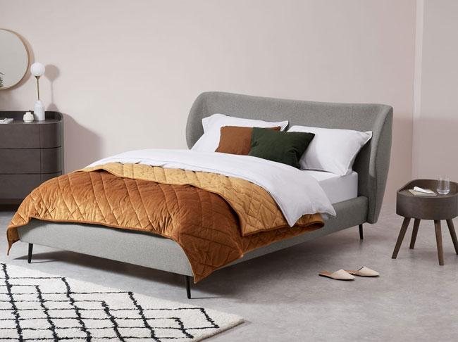 3. Topeka retro bed at Made