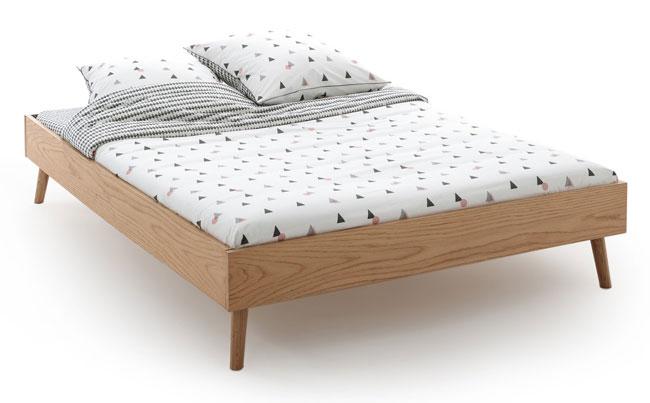 4. Jimi oak bed frame at La Redoute