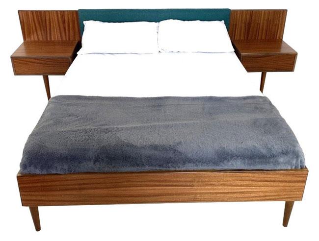 5. The Mojo Reserve teak bed