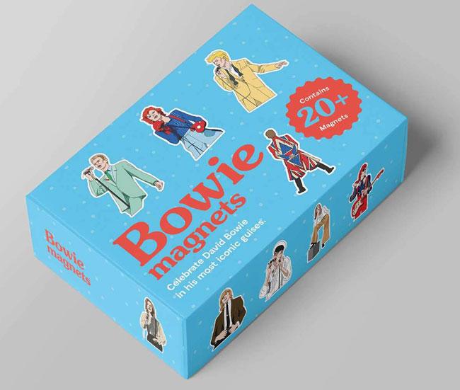 David Bowie fridge magnets collection