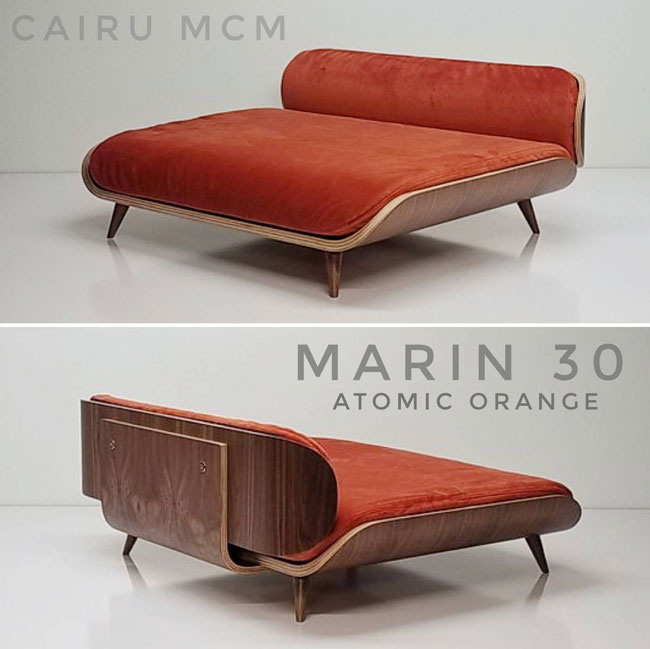 4. Eames-inspired dog beds by Cairu MCM