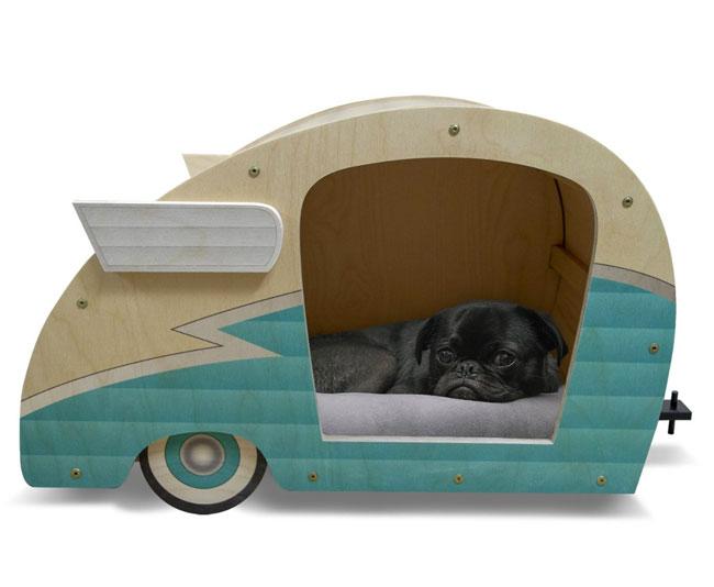7. Retro 1950s pet caravan at Daydream HQ