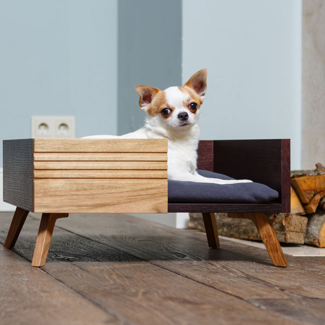 9. Small dog bed by Lvll Design