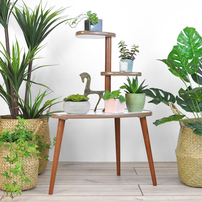 Atomica midcentury modern plant stands