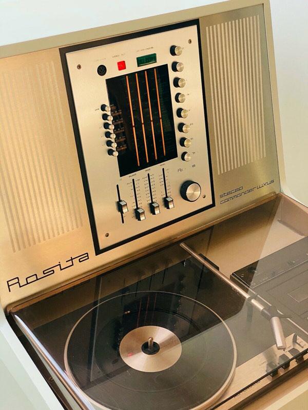 1970s Rosita Commander space age audio system on eBay