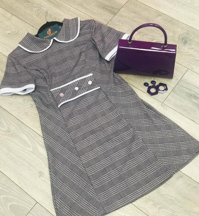 Handmade 1960s fashion by Fuzzy Retro