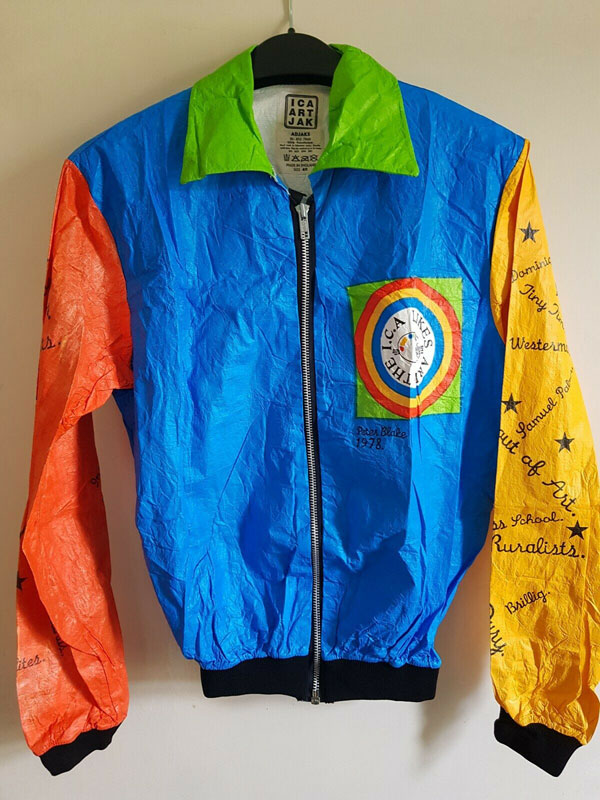1970s Sir Peter Blake pop art jacket on eBay