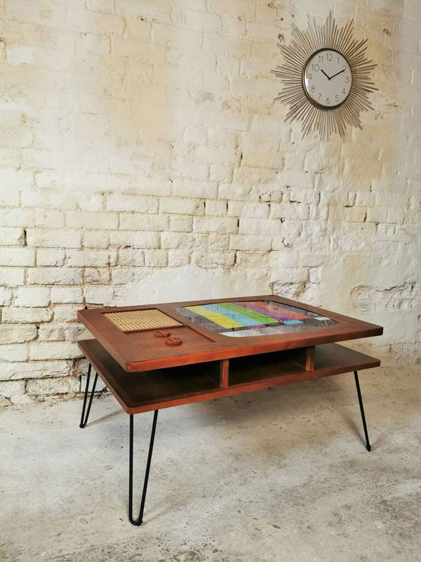 Retro TV coffee table by Cambrewood