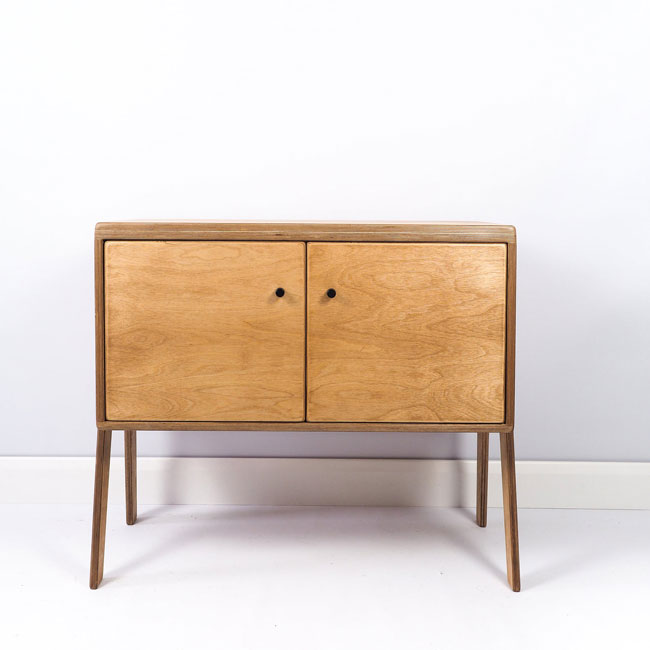 Handmade retro vinyl cupboards by Made By Raphael