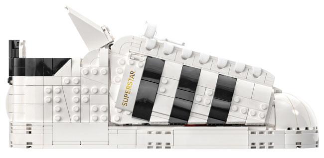 Limited edition Adidas Originals Superstar Lego set